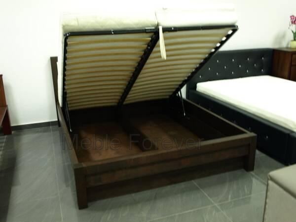 łóżko Drewniane Passat Z Pojemnikiem